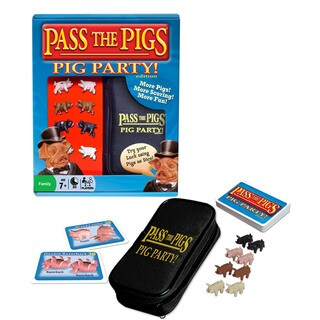 Winning Moves Pass the Pigs: Pig Party Edition