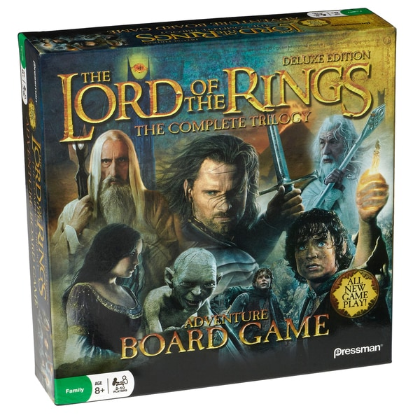 The Lord Of The Rings Adventure Board Game Deluxe Edition