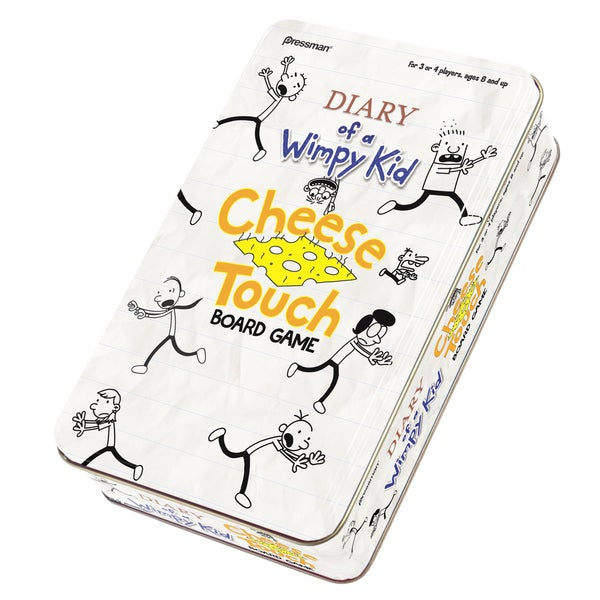 Diary of a Wimpy Kid Cheese Touch Game in a Tin