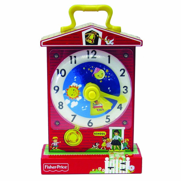 Fisher-Price Classics Music Box Teaching Clock
