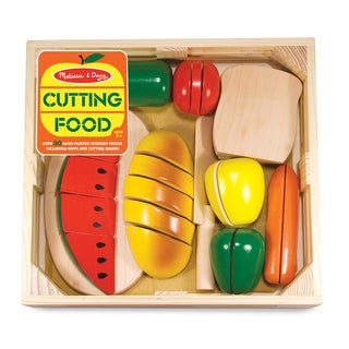 Melissa & Doug Cutting Food Box Play Food Set
