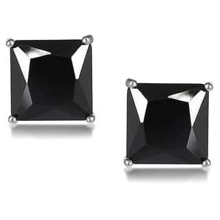 Journee Collection Sterling Silver Cubic Zirconia Square 7 mm Stud Earrings|https://ak1.ostkcdn.com/images/products/7869686/7869686/Tressa-Sterling-Silver-Cubic-Zirconia-Square-7-mm-Stud-Earrings-P15253944.jpg?impolicy=medium
