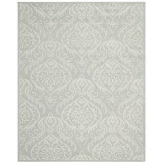 Safavieh Handmade Bella Silver Wool and Viscose Rug (6' x 9')