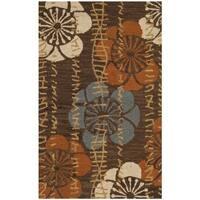 Safavieh Handmade Blossom Brown Wool Rug - 2'6 x 4'