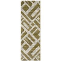 Safavieh Porcello Modern Geometric Ivory/ Multi Runner Rug - 2'4 x 6'7
