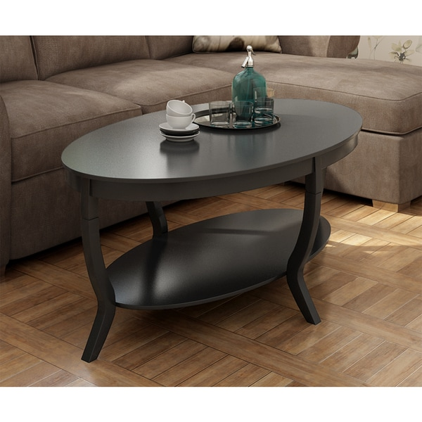 Lewis Distressed Black Coffee Table   Free Shipping Today   Overstock.com    15253985