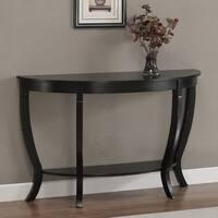 Gracewood Hollow Lewis Distressed Black Sofa Table