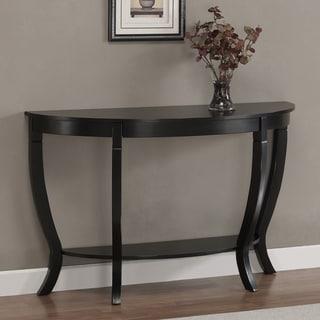 Lewis Distressed Black Sofa Table