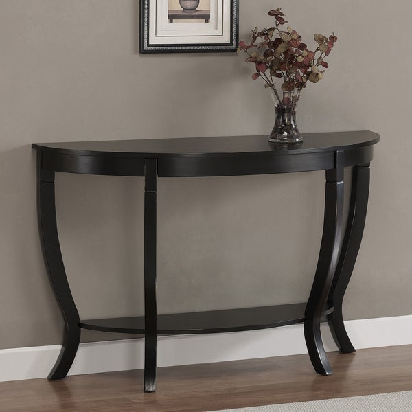 Lewis Distressed Black Sofa Table Free Shipping Today