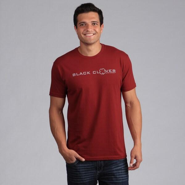 Black Clover Men's Red 'Impress' T-Shirt
