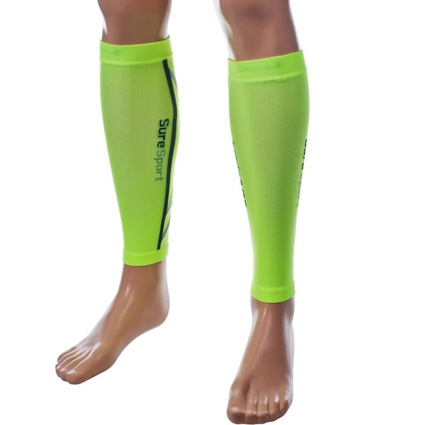 Remedy Green Compression Running Calf Sleeves