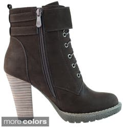 DimeCity Women's 'Breve' Stacked Heel Lace-up Ankle Boots|https://ak1.ostkcdn.com/images/products/7869981/DimeCity-Womens-Breve-Stacked-Heel-Lace-up-Ankle-Boots-P15254219A.jpg?impolicy=medium