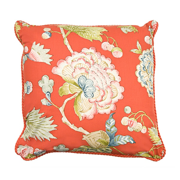 Rose Tree Decorative Pillows : Rose Tree Livingston 18-inch Throw Pillow - Free Shipping On Orders Over $45 - Overstock.com ...