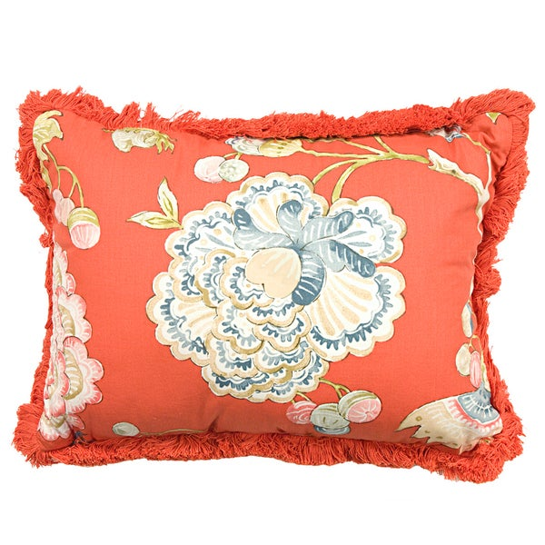 Rose Tree Livingston Rectangular 15-inch Throw Pillow - Free Shipping On Orders Over $45 ...