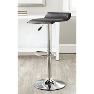 Safavieh Sheba Brown Adjustable 22-31-inch Swivel Bar Stool