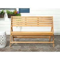 Safavieh Outdoor Luca Folding Bench
