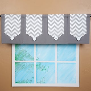 Design Your Valance Four-panel Chevron Valance