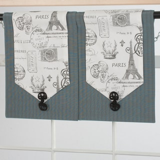Design Your Valance Paris 2-Panel