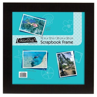 MCS Flat 12-inch x 12-inch Black Scrapbook Frame