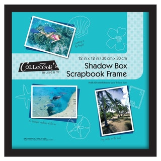 MCS 12 inches x 12 inches Black Scrapbook Shadow Box