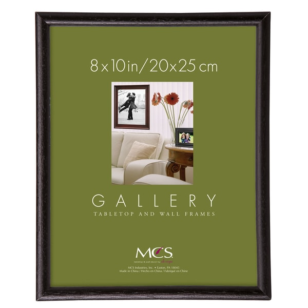 Shop MCS 8-Inch x 10-Inch Black Bullnose Frame - Free Shipping On ...