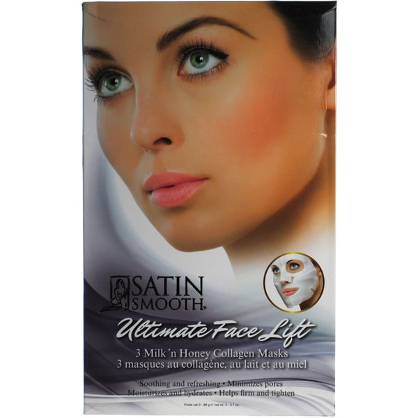 Satin Smooth Ultimate Eye Lift Collagen Mask 3 Count ...