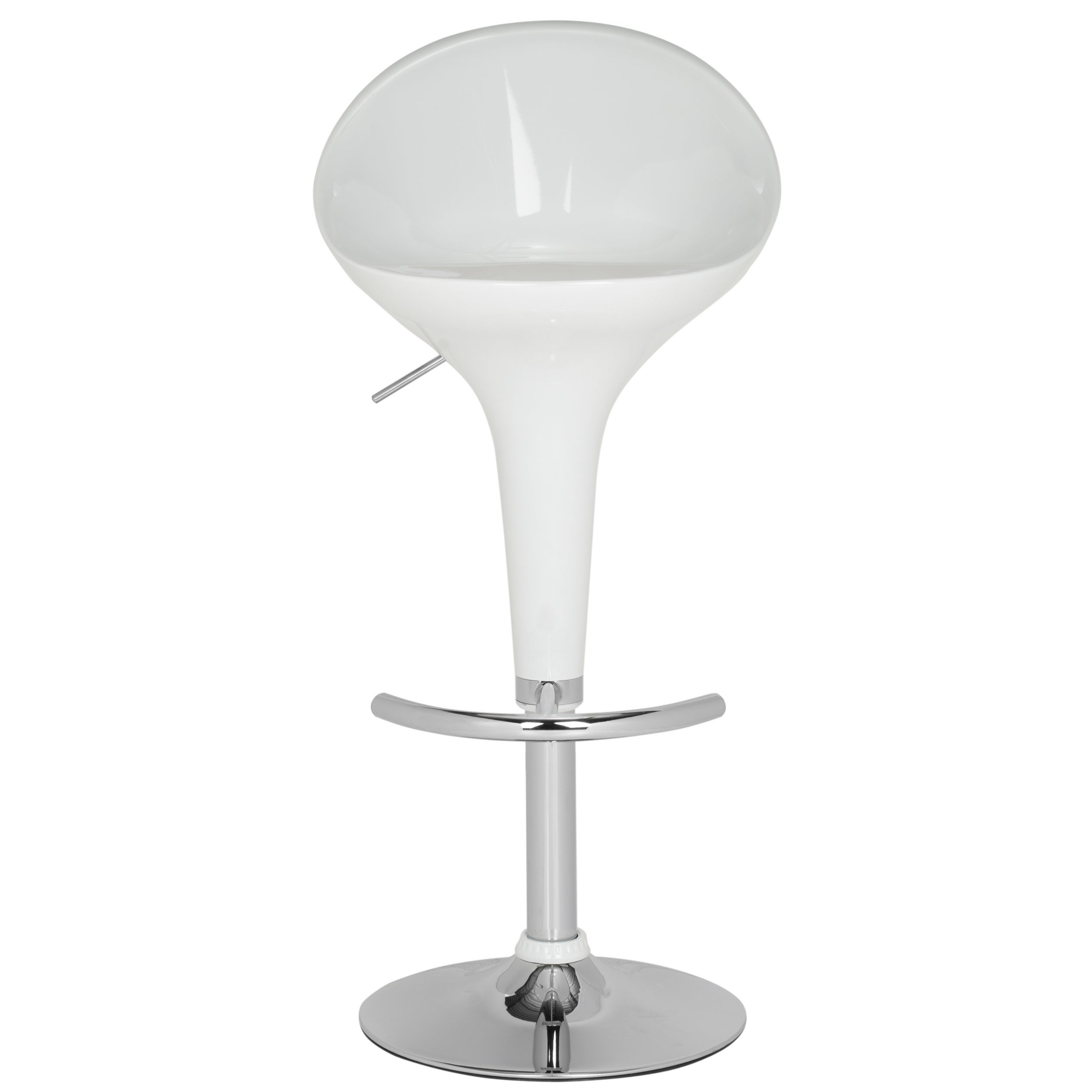 Safavieh Zorab White Adjustable 24 32 Inch Bar Stool 683726766490 Ebay