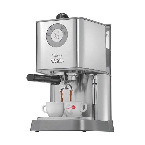 gaggia baby twin espresso machine with dual heating system free shipping today. Black Bedroom Furniture Sets. Home Design Ideas