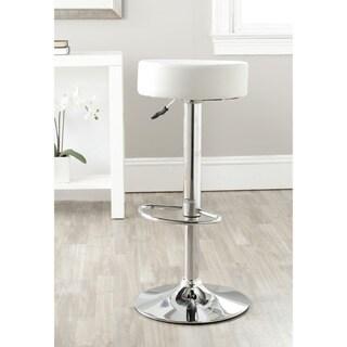 Safavieh 25.6-31.5-inch Jute White Adjustable Swivel Bar Stool