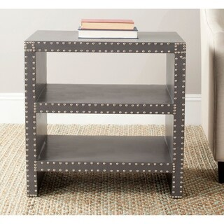 "Safavieh Lacey Grey Side Table - 23.6"" x 15.7"" x 23.6"""