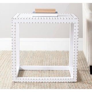 Safavieh Lena White End Table
