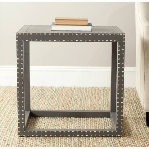 "Safavieh Lena Grey End Table - 23.6"" x 15.7"" x 23.6"""