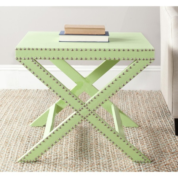 Safavieh Jeanine Light Green X Bench