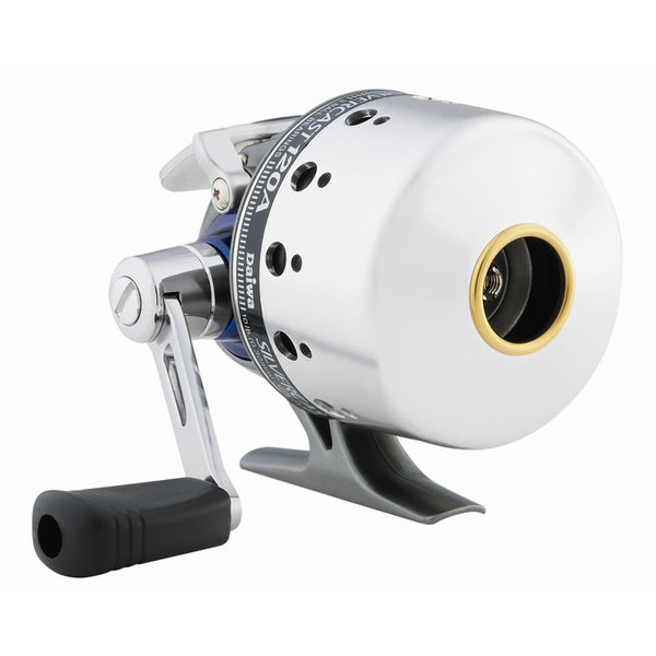 Daiwa Silvercast-A Spincast 4.3:1 3 Ball Bearings Reel