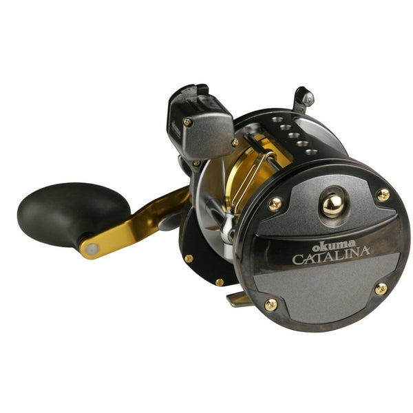 Okuma catalina line counter reel free shipping today for Line counter fishing reels
