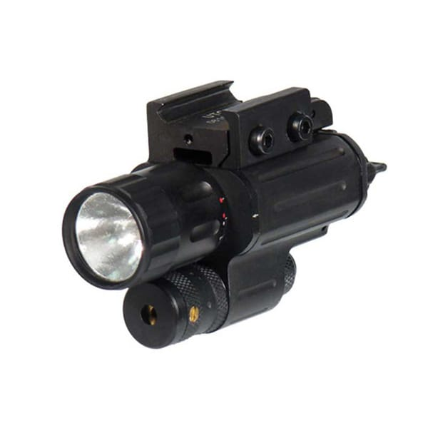 Leapers Xenon Flashlight and Adjustable Red Laser Combo
