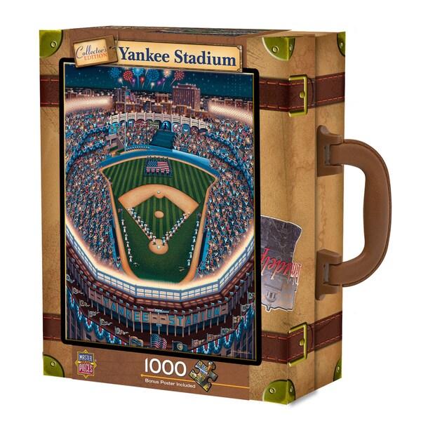 Yankee Stadium 1000-piece Suitcase Puzzle