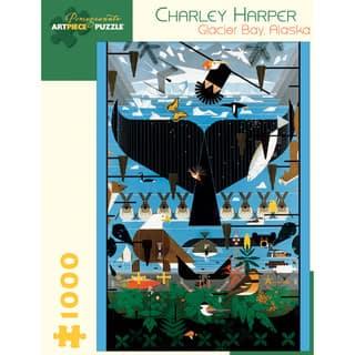 Charley Harper Glacier Bay Alaska 1000-piece Puzzle|https://ak1.ostkcdn.com/images/products/7870442/Charley-Harper-Glacier-Bay-Alaska-1000-piece-Puzzle-P15254587.jpg?impolicy=medium