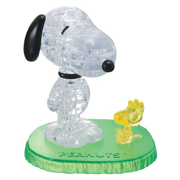 3D Snoopy with Woodstock Crystal 41-piece Puzzle