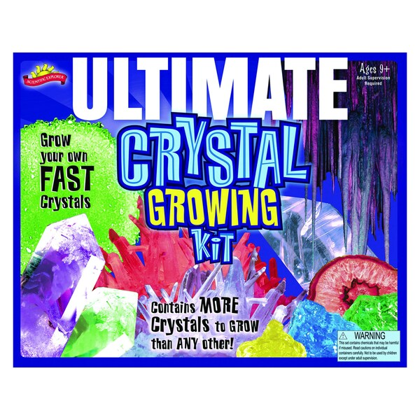 Scientific Explorer Ultimate Crystal Growing Kit Scientific Explorer Science Kits
