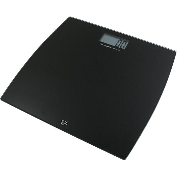 American Weigh Scales Black Digital Glass Scale