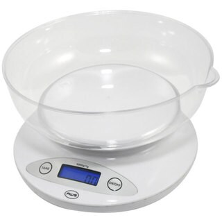 White Bowl Kitchen Scale