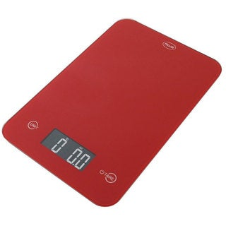 American Weigh Scales Thin Digital Red Kitchen Scale