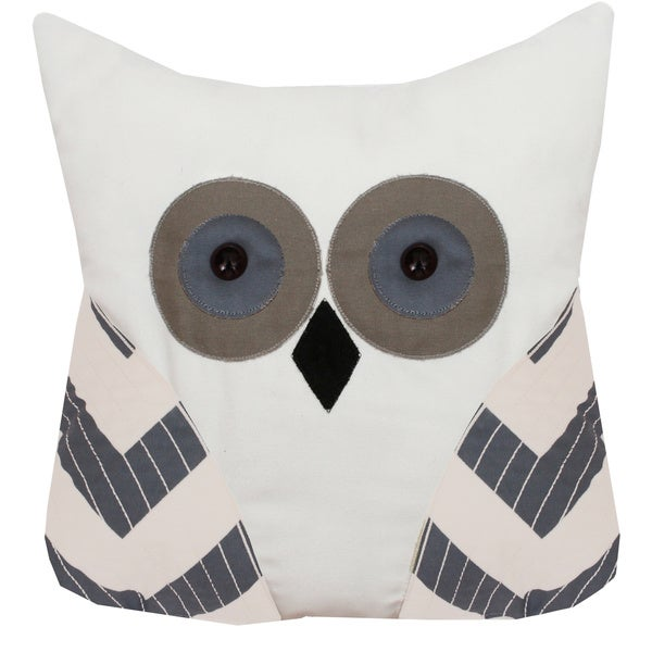 Tootsie Owl Shaped Pillow