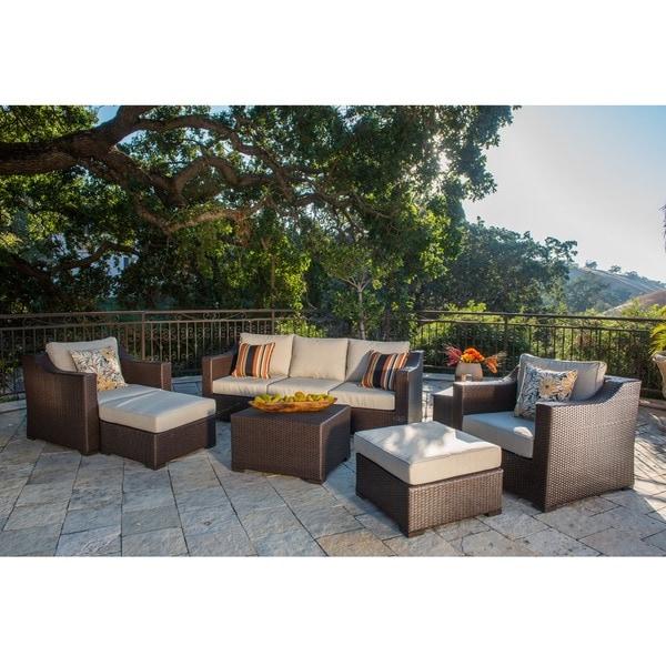 Sirio Patio Furniture Corvus Matura Outdoor 9-piece Patio Wicker Seating  Set - 15256767 . - Sirio Patio Furniture Our Designs
