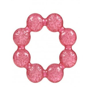 Nuby Pur Ice Bite Soother Ring Teether (Option: Pink)