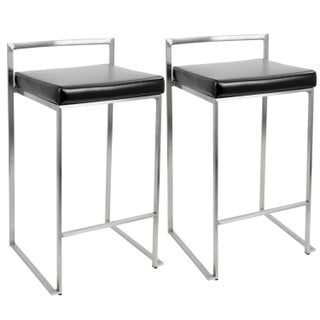 Oliver & James Krupa Stackable Counter Stool (Set of 2) (More options available)