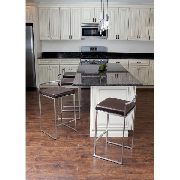 Fuji Stackable Counter Stool (Set of 2) - Free Shipping Today - Overstock.com - 15256910  sc 1 st  Overstock.com & Fuji Stackable Counter Stool (Set of 2) - Free Shipping Today ... islam-shia.org