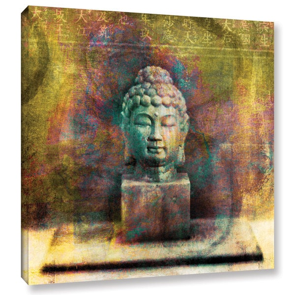 The Curated Nomad Elena Ray 'Buddha' Gallery-wrapped Canvas