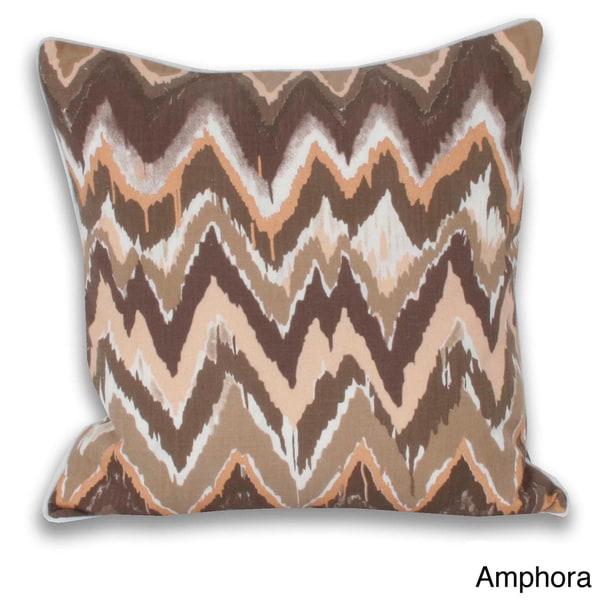 Wynona Metallic Print Throw Pillow